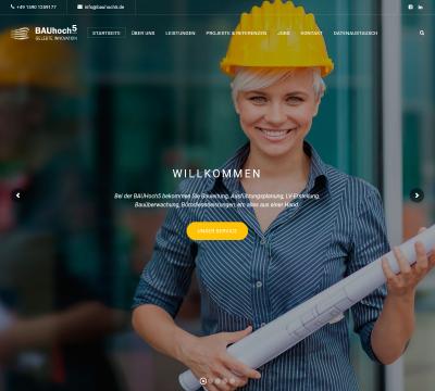 Webseite erstellt Bauhoch5 in Laupheim