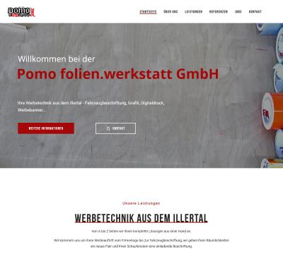 Referenz Webseite erstellt in Memmingen